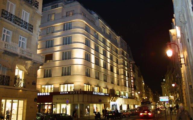 Отель de Castiglione Франция, Париж - 11 отзывов об отеле, цены и фото номеров - забронировать отель de Castiglione онлайн вид на фасад