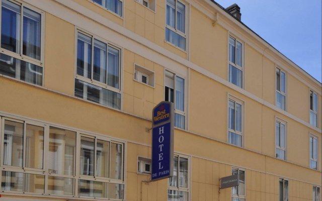 Отель Best Western Hotel de Paris Франция, Лаваль - отзывы, цены и фото номеров - забронировать отель Best Western Hotel de Paris онлайн вид на фасад