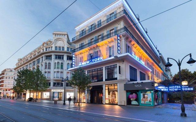Отель Best Western Lakmi hotel Франция, Ницца - 9 отзывов об отеле, цены и фото номеров - забронировать отель Best Western Lakmi hotel онлайн вид на фасад