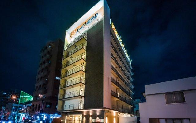 Отель Super Hotel Utsunomiya Япония, Уцуномия - отзывы, цены и фото номеров - забронировать отель Super Hotel Utsunomiya онлайн вид на фасад
