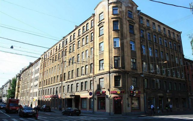 Hostel at Lenin Street Санкт-Петербург вид на фасад