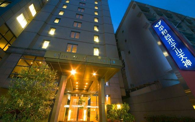 Отель Heiwadai Hotel Tenjin Япония, Фукуока - отзывы, цены и фото номеров - забронировать отель Heiwadai Hotel Tenjin онлайн вид на фасад