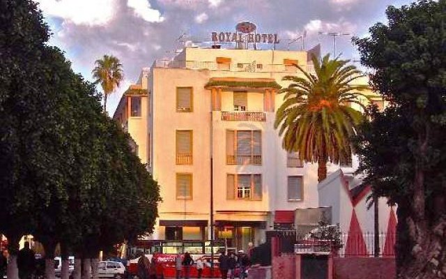 Отель Royal Rabat вид на фасад
