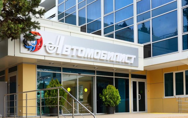 Гостиница Автомобилист в Сочи отзывы, цены и фото номеров - забронировать гостиницу Автомобилист онлайн вид на фасад
