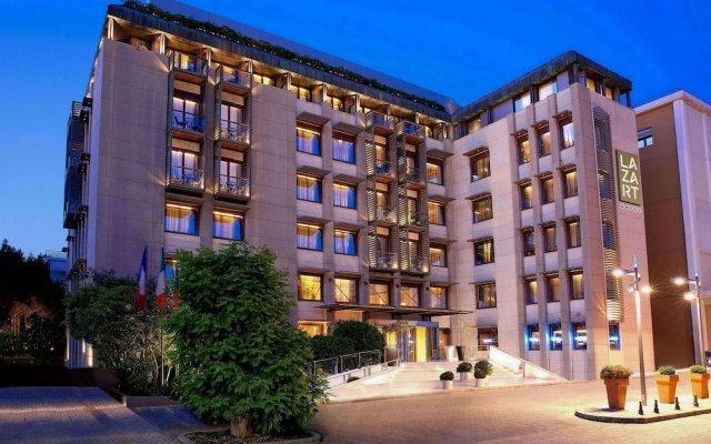 Lazart Hotel Ставроуполис вид на фасад