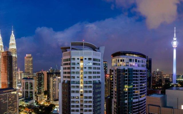 Отель 188 Serviced Suites & Shortstay Apartments Малайзия, Куала-Лумпур - отзывы, цены и фото номеров - забронировать отель 188 Serviced Suites & Shortstay Apartments онлайн вид на фасад
