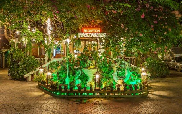Отель Tropica Bungalow Resort вид на фасад