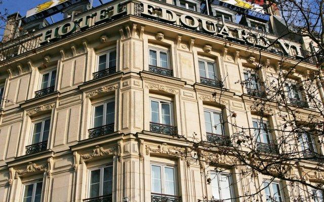 Отель Edouard Vi Париж вид на фасад