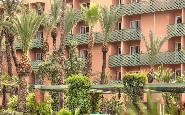 Отель Golden Tulip Farah Marrakech Марокко, Марракеш - 2 отзыва об отеле, цены и фото номеров - забронировать отель Golden Tulip Farah Marrakech онлайн вид на фасад