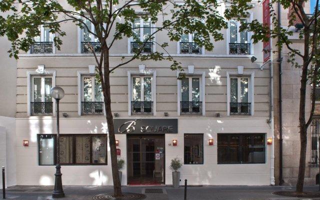Отель B Square Париж вид на фасад