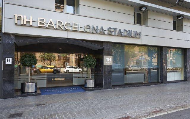 Отель NH Barcelona Stadium вид на фасад