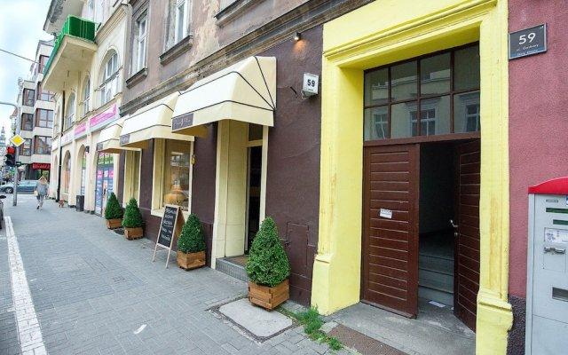 Отель Apartamenty London вид на фасад