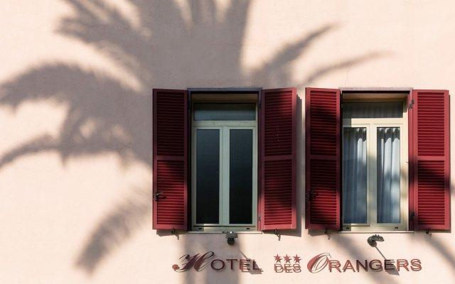 Отель The Originals des Orangers Cannes (ex Inter-Hotel) Франция, Канны - отзывы, цены и фото номеров - забронировать отель The Originals des Orangers Cannes (ex Inter-Hotel) онлайн вид на фасад