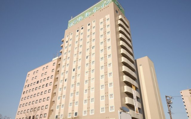 Отель Route Inn Gifu Hashima Ekimae Хашима вид на фасад