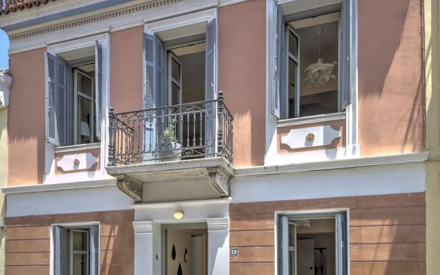 Отель Aria Plaka Residence Афины вид на фасад