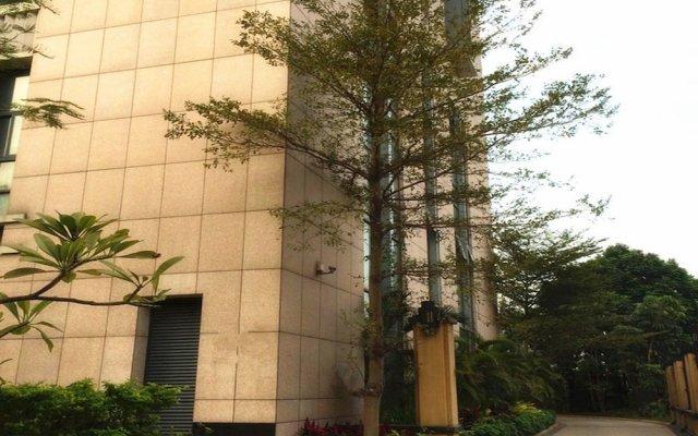 Апартаменты Bangtai International Apartment вид на фасад
