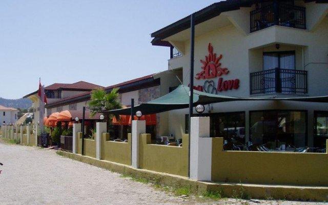 Sunlove Hotel Мармарис вид на фасад