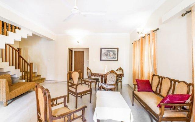 Отель GuestHouser 4 BHK Villa 6dcf Гоа комната для гостей