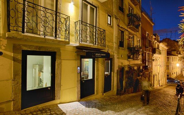 Отель Dear Lisbon Charming House Лиссабон вид на фасад