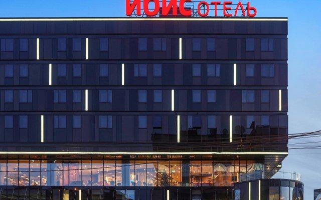 Гостиница ibis Krasnoyarsk Center вид на фасад
