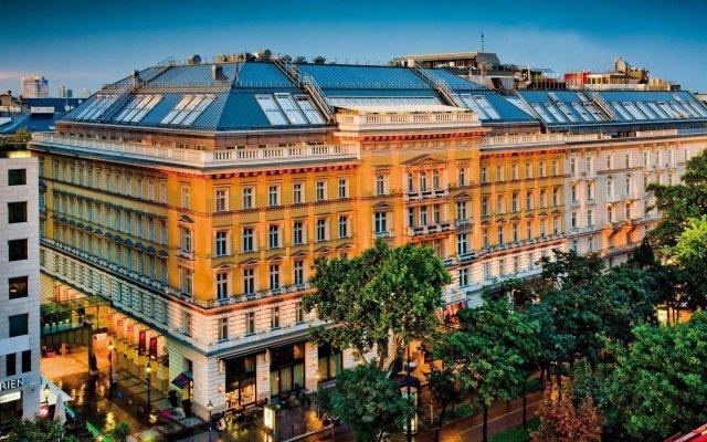 Отель Grand Wien Вена вид на фасад