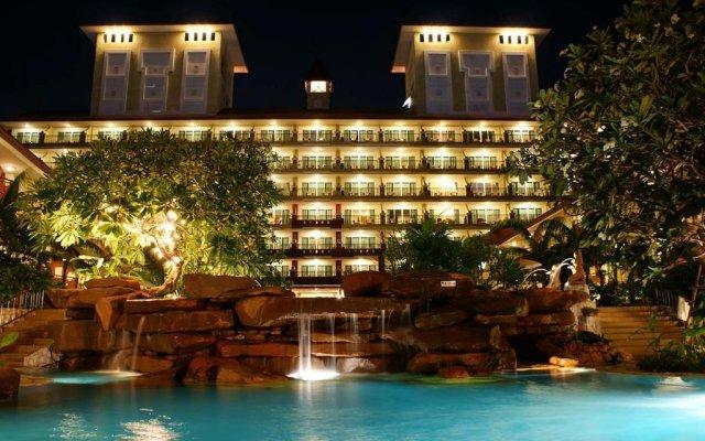 Отель Bella Villa Cabana Таиланд, Паттайя - 1 отзыв об отеле, цены и фото номеров - забронировать отель Bella Villa Cabana онлайн вид на фасад