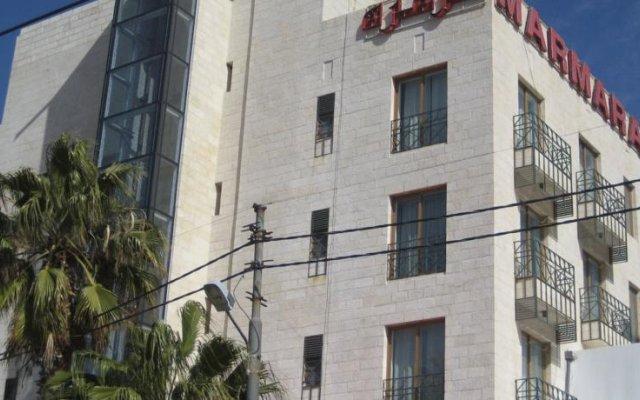 Отель Marmara Hotel Иордания, Амман - отзывы, цены и фото номеров - забронировать отель Marmara Hotel онлайн вид на фасад