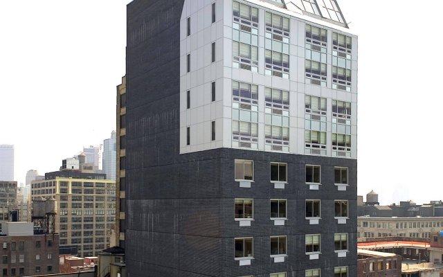 Отель Four Points by Sheraton Manhattan SoHo Village США, Нью-Йорк - отзывы, цены и фото номеров - забронировать отель Four Points by Sheraton Manhattan SoHo Village онлайн вид на фасад