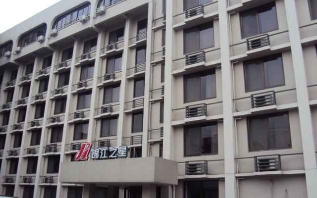 Отель Jinjiang Inn Chendu Sport University вид на фасад