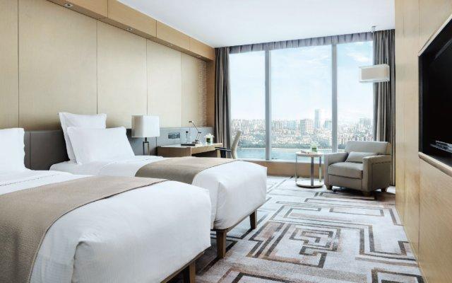 Отель Langham Place Guangzhou Гуанчжоу комната для гостей