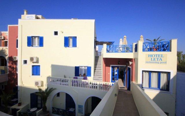 Отель Leta-Santorini Греция, Остров Санторини - отзывы, цены и фото номеров - забронировать отель Leta-Santorini онлайн вид на фасад
