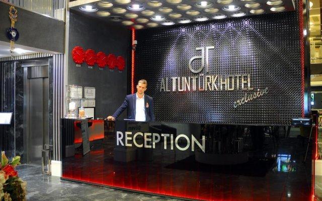 Отель Altuntürk Otel вид на фасад
