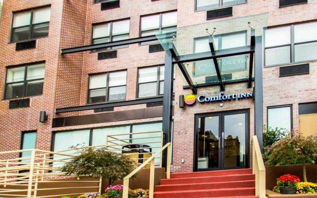 Отель Comfort Inn Midtown West вид на фасад