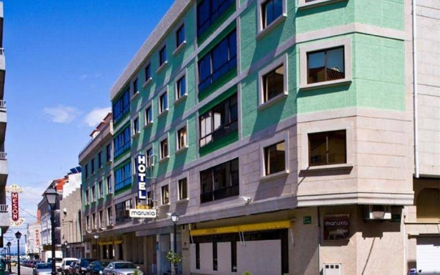 Отель Maruxia Испания, Эль-Грове - отзывы, цены и фото номеров - забронировать отель Maruxia онлайн вид на фасад
