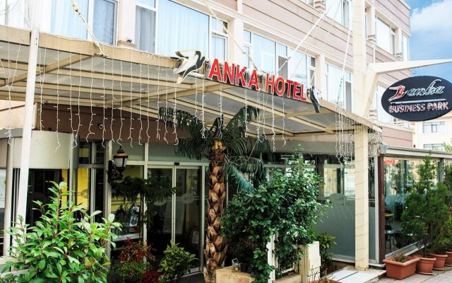Отель Anka Business Park вид на фасад
