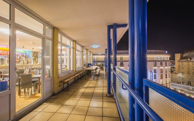 Отель a&o Nürnberg Hauptbahnhof вид на фасад