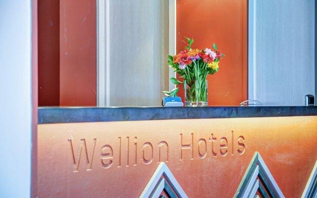 Wellion Vodny Hotel вид на фасад