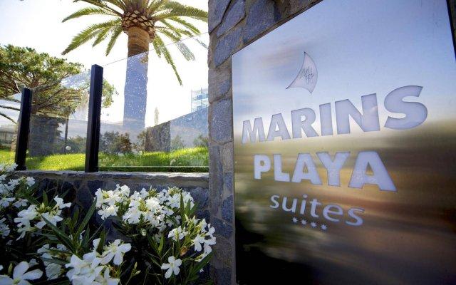 Отель Marins Playa вид на фасад