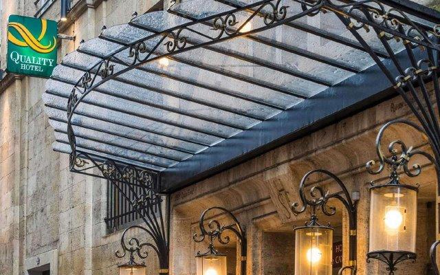 Quality Hotel Bordeaux Centre вид на фасад