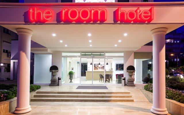 The Room Hotel & Apartments Анталья вид на фасад