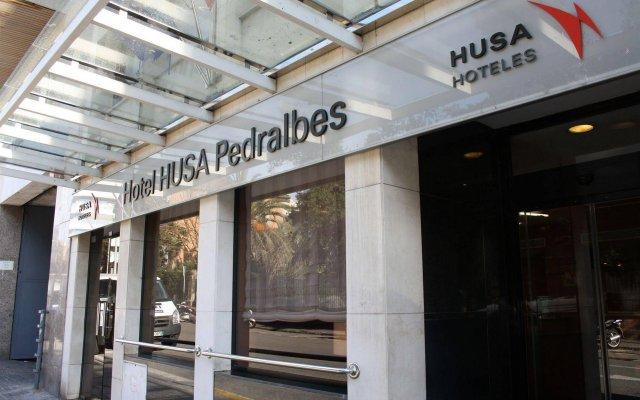 Отель Husa Pedralbes Испания, Барселона - отзывы, цены и фото номеров - забронировать отель Husa Pedralbes онлайн вид на фасад