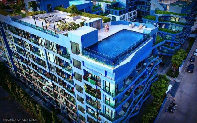 Отель Acqua Condo - 505 by Axiom Паттайя вид на фасад