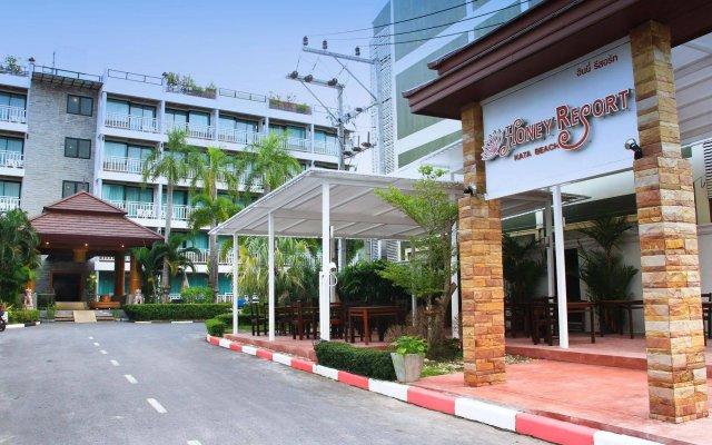Отель Honey Resort вид на фасад