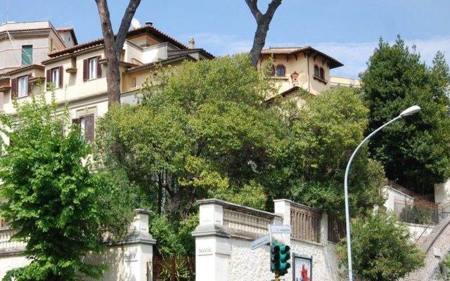 Отель Residence Villa Tassoni Рим вид на фасад