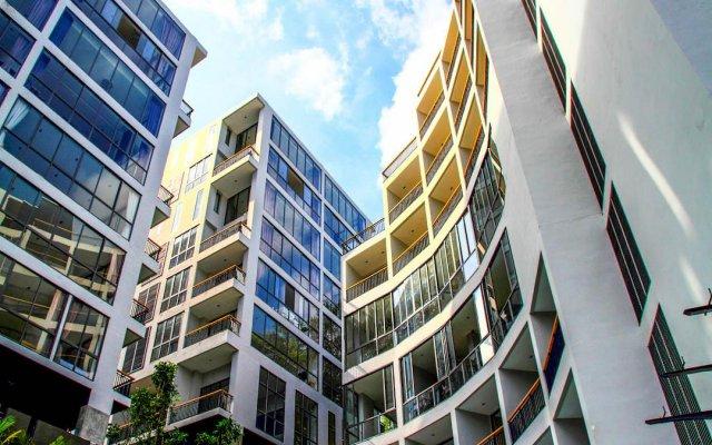 Отель Icon Park Condominium Kamala вид на фасад