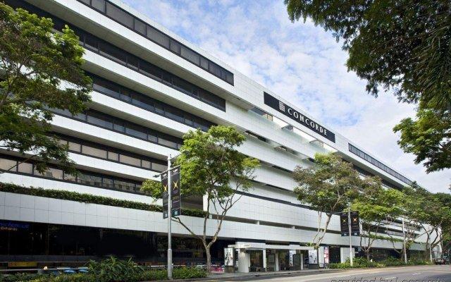 Отель Concorde Hotel Singapore Сингапур, Сингапур - отзывы, цены и фото номеров - забронировать отель Concorde Hotel Singapore онлайн вид на фасад