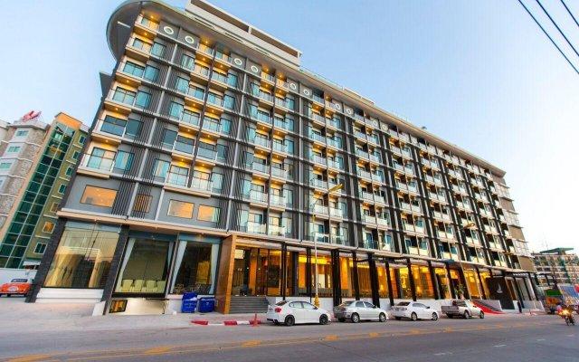 The Marina Phuket Hotel Патонг вид на фасад