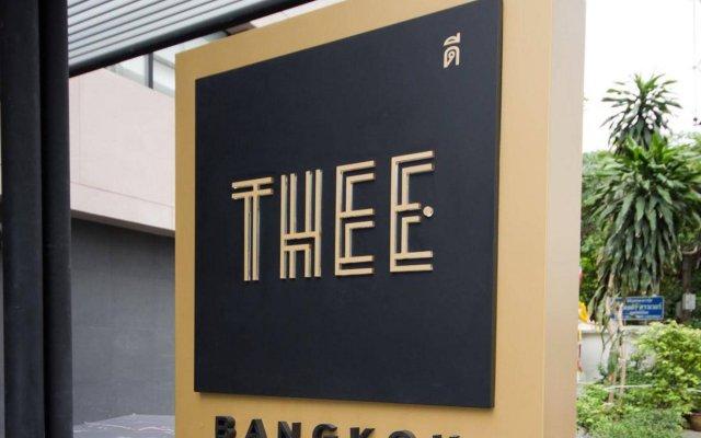 Thee Bangkok Hotel вид на фасад