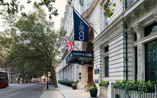 Отель Club Quarters, Trafalgar Square Великобритания, Лондон - - забронировать отель Club Quarters, Trafalgar Square, цены и фото номеров вид на фасад