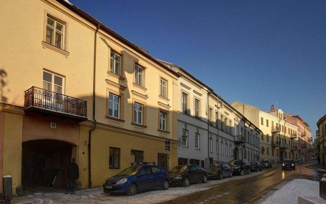 Отель Angel House Vilnius вид на фасад